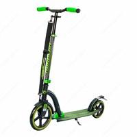 Городской самокат Tech Team Huracan 2017 Черно-зеленый