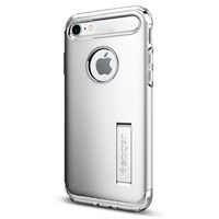 Чехол-накладка Spigen SGP для iPhone 7/8 Case Slim Armor, Satin Silver