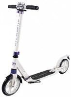 Городской самокат Tech Team City Scooter белый-фиолетовый
