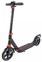Городской самокат Tech Team City Scooter черный-оранжевый