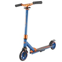 Городской самокат Tech Team TT Jogger оранжево-синий