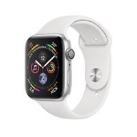 Часы Apple Watch Series 4 GPS 44mm Aluminum Case with Sport Band Серебристый/Белый MU6A2