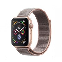 Часы Apple Watch Series 4 GPS 44mm Aluminum Case with Sport Loop Sand Pink MU6G2