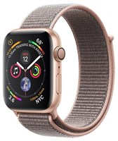 Часы Apple Watch Series 4 GPS 40mm Aluminum Case with Sport Loop MU692 Золотистый/Розовый песок