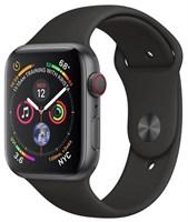 Часы Apple Watch Series 4 GPS + Cellular 40mm Stainless Steel Case with Sport Band MTUN2 Серый Космос/Черный