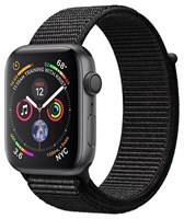 Часы Apple Watch Series 4 GPS 44mm Aluminum Case with Sport Loop Black MU6E2