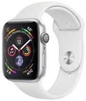 Часы Apple Watch Series 4 GPS 40mm Aluminum Case with Sport Band Серебристый/Белый