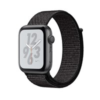 Часы Apple Watch Series 4 GPS 40mm Aluminum Case with Nike Sport Loop MU7G2 Серый космос/черный