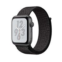 Часы Apple Watch Series 4 GPS 40mm Aluminum Case with Nike Sport Loop MU7G2 Серый космос/черный