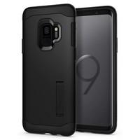 Чехол-накладка Spigen SGP для Samsung Galaxy S9 Case Slim Armor 592CS22880, Black