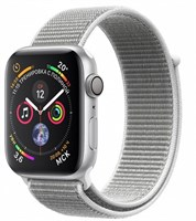 Часы Apple Watch Series 4 GPS 40mm Aluminum Case with Sport Loop Seashell MU652 Белая ракушка