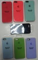Силиконовый чехол Silicone Case для Apple iPhone SE в ассортименте