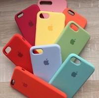 Силиконовый чехол Silicone Case для Apple iPhone Xs MAX В ассортименте