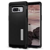 Чехол-накладка Spigen SGP для Samsung Galaxy Note 8 Case Slim Armor 587CS21835, Black