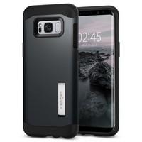 Чехол-накладка Spigen SGP для Samsung Galaxy S8 Case Neo Hybrid Gunmetal. 565CS21602