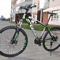 """Велосипед Crait ESPRIT 27.5"""" (21ск. алюм. ДИСК рост 18"""") зеленый"""
