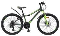 "Велосипед STELS 24"" Навигатор 450 MD чер/зел 18-ск., рама AL"