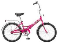 """Велосипед STELS Pilot-310 20"""" (малиновый) рама 13"""""""