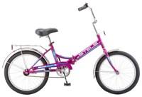 """Велосипед STELS Pilot-410 20"""" (фиолетовый) рама 13,5"""""""