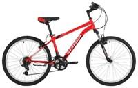 """Велосипед Stinger 24"""" Caiman; рама 14""""; красный; TY21/TZ30/TS38"""