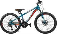 "Велосипед TechTeam Storm 24""х13"" синий"